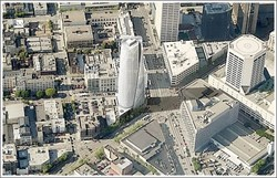 One Van Ness Aerial Rendering