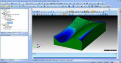 BobCADCAM Simulation Tolerance Deviation Analysis
