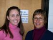Dietitian Julia Hicks (left) and Nurse Heather Kamenz