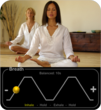 HeartRate+: Monitor Heart Rate, Guided Breathing Sessions, Coherence Coach, iPhone App, Stress Relief