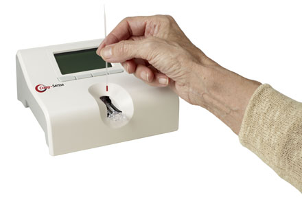 pt inr testing machine at home