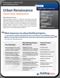 Urban Renaissance Rapid Deployment Case Study