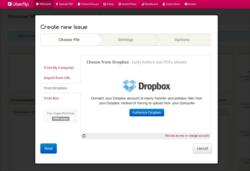 Uberflip Integrates with Box and Dropbox
