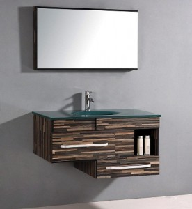 Modern Wood Patterned Legion Furniture Bathroom Vanity Wth9032
