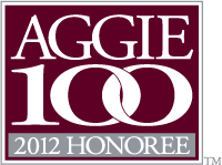 2012 Aggie100 Honorees