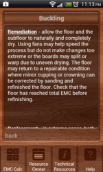 Wood EMC & Resource Android App Screenshot