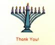 Hanukkah Thank You Notes