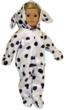 Dalmation Costume for American Girl Dolls