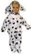 Dalmation Costume for American Girl Dolls