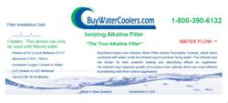 Ionizing Alkaline filter information