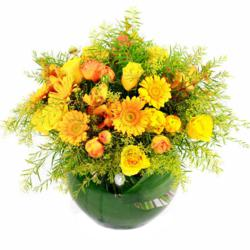 autumn flowers promotion