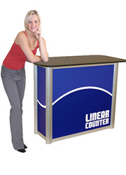 Promotional Counter Roadshow Display