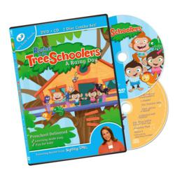 Treeschoolers DVD & CD: A Rainy Day