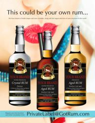 Private label rum, from Rum Runner Press, Inc.