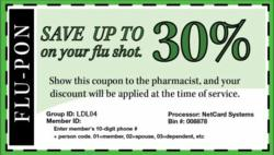 Flu Shot Discount Coupon