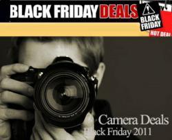 Black Friday & Cyber Monday Camera Deals 2012