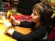 A great toy even in a noisy restaurant.