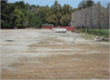 Stevens Creek Corridor Park -- Upper parking lot (before)