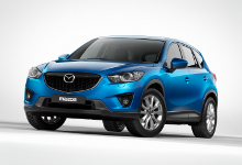 The Mazda CX-5 at Hendy Business