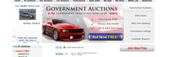 Police Auctions website Policeauctions.com