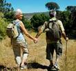 Hiking Stick Couple