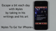 'Myles To Go' for iPhone