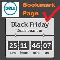 Dell Bookmark Pages Black Friday & Cyber Monday