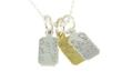 Sterling silver or gold-plated Custom Race Tags are availale at InspiredEndurance.com