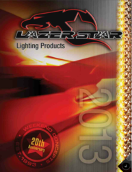 Lazer Star Lights new 2013 catalog