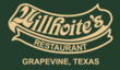 Willhoite's Restaurant is located in Historic Downtown Grapevine, Texas