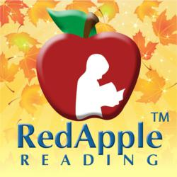 Red Apple Reading Fall Logo