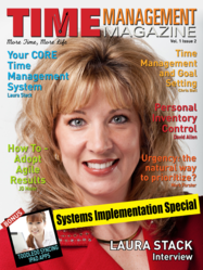 Cover of Time Management Magazine Issue 2