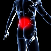 lower back pain prostate
