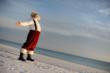 Santa at Sandestin Beach Resort in Florida