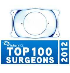 Visian ICL Top 100 Surgeons Award