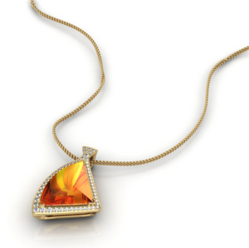 Pieter Andries Creators of Fine Jewelry Sponsored the Guzman 23 Foundation's Golf Tournament and Donated a One-of-a-Kind Pendant for the Event's Silent Auction