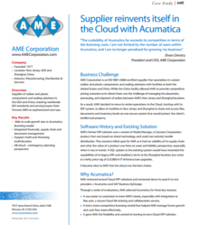 AME Corporation Reinvents Itself With Acumatica