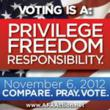 Candidates Can't Run From the 2012 AFA Action Christian Voter Guide