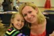 Kasia Pytel and her mom Monika of Orland Park, spend some happy mother-daughter time.