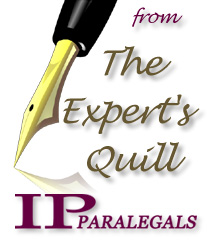Edited from IPParalegals Expert's Quill Blog