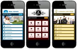 Mobile websites made with InstantMobile
