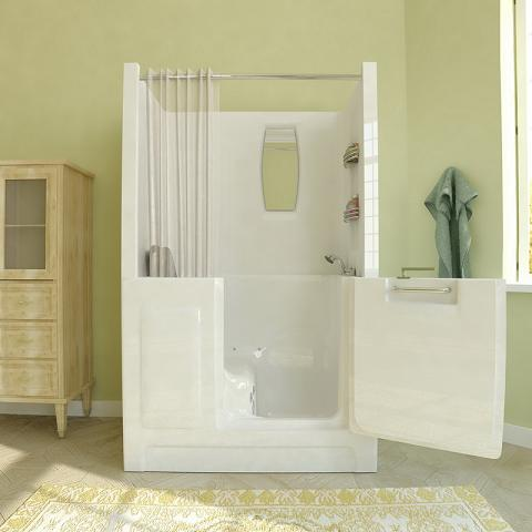 Walk In Bathtub With Shower Enclosure