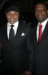 LL Cool J and Bernard Bonner at A Night Out with the Millennium Network - Clinton Foundation