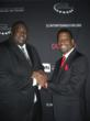 Bernard Bonner and Quinton Aaron at A Night Out with the Millennium Network - Clinton Foundation
