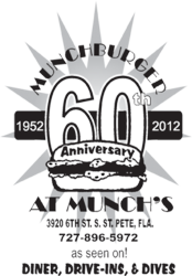 Munch's 60th Anniversary Logo