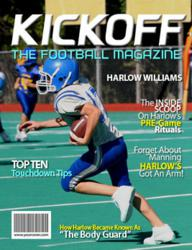 Personalized Football Magazine Cover from YourCover