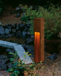 Rusty Slot 80 outdoor light by SLV Lighting