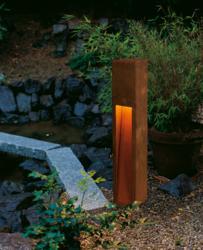 Rusty Slot 80 outdoor light by SLV Lighting