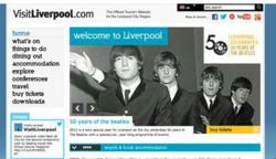 VisitLiverpool Tourism Website