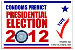 Vote with a condom at CondomJungle.com